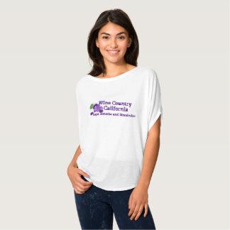 Camiseta País vinícola California