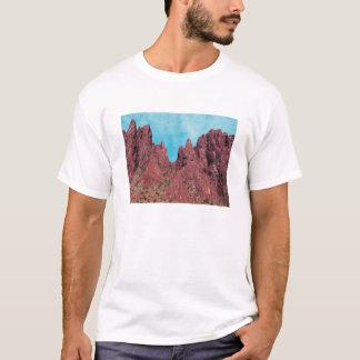 Camiseta Paisaje de la montaña, barranco Arizona de la