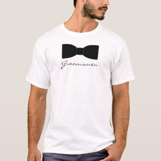 Camiseta Pajarita negra