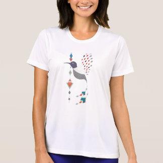 Camiseta Pájaro azteca tribal étnico del vintage