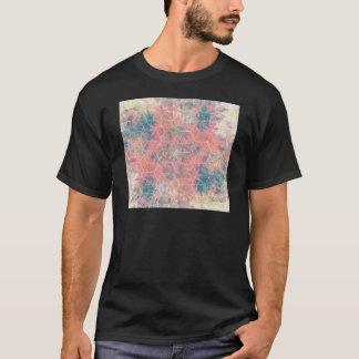 Camiseta Pájaro de las técnicas mixtas