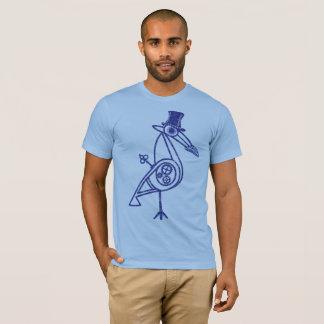 Camiseta Pájaro de Steampunk