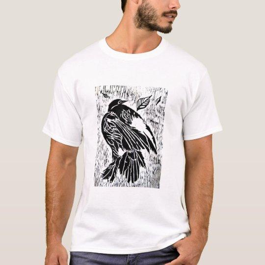 Camiseta pájaro muerto