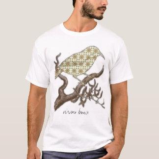 Camiseta pájaro, virus
