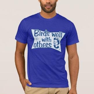 Camiseta Pájaros bien con otros