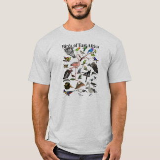 Camiseta Pájaros de la África del Este