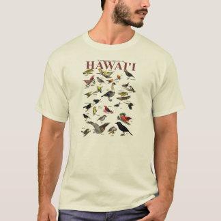 Camiseta Pájaros endémicos de Hawai'i