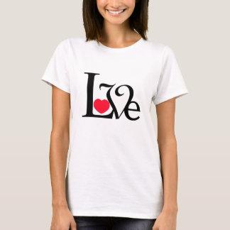 Camiseta Palabra del amor del corazón