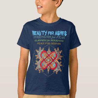 Camiseta Palabras hebreas para el artista del amor, montaña