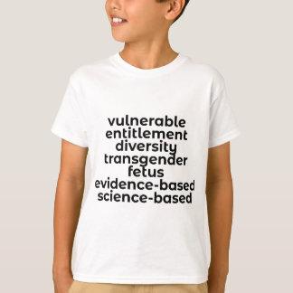 Camiseta Palabras prohibidas en los E.E.U.U. (CDC y más)