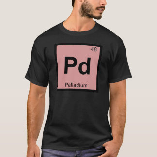 Camiseta Paladio - Símbolo de la tabla periódica de la