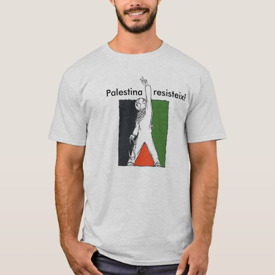 Camiseta Palestina Resisteix!