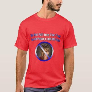 Camiseta palin de Sara llenos de mierda