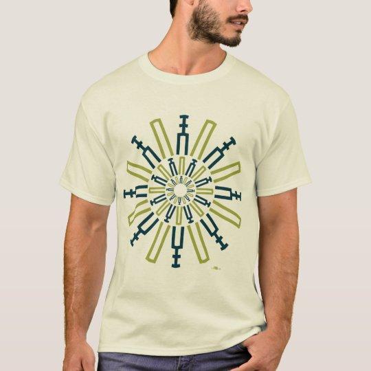 Camiseta Palitroques verdes. Woman t-shirt