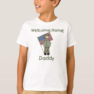 Camiseta Palo de golf casero agradable del ejército del
