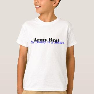 Camiseta Palo de golf del ejército (azul) mi papá…