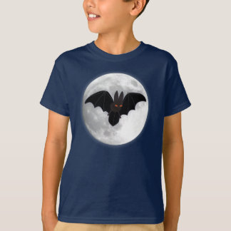 Camiseta Palo y luna Rojo-Observados