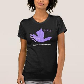 Camiseta Paloma de la cinta del bígaro de la esperanza -