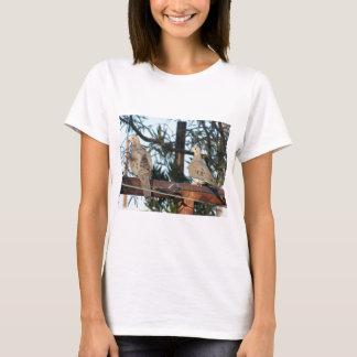 Camiseta Paloma de luto