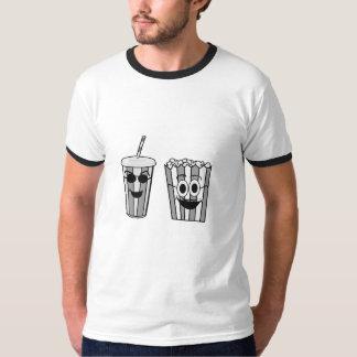 Camiseta palomitas y soda