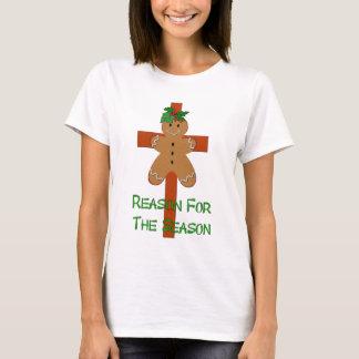 Camiseta Pan de jengibre en una cruz