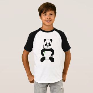 Camiseta Panda del dibujo animado