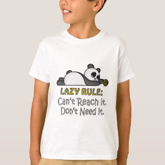 Camiseta Panda perezosa