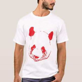 Camiseta Panda roja