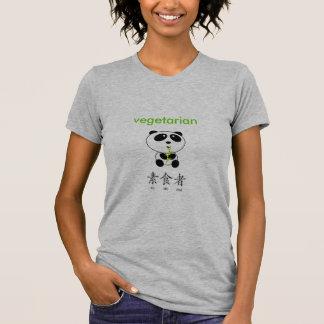 Camiseta Panda vegetariana