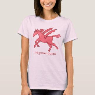 Camiseta Pandilla de Pegaso pálida - mujeres rosadas