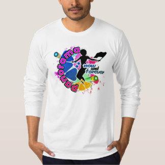 Camiseta Panorama/camisa del recuerdo de FlagWoman