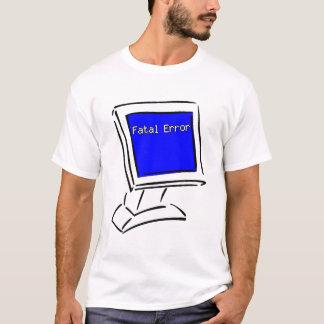 Camiseta Pantalla azul