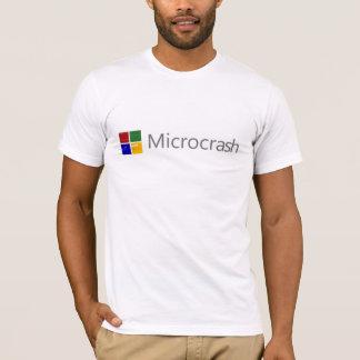 Camiseta Pantalla de Microcrash del logotipo de la muerte