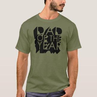 Camiseta papá de la sombra 3D del año