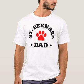 Camiseta Papá de St Bernard