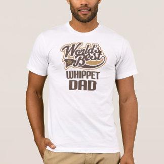 Camiseta Papá de Whippet (mundos mejores)