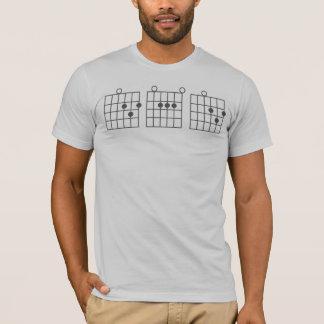 Camiseta PAPÁ del acorde de la guitarra
