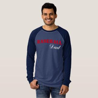 Camiseta Papá del béisbol