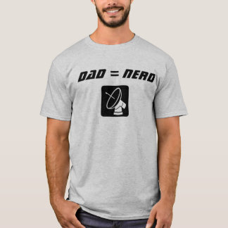 Camiseta Papá del empollón