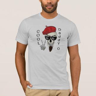 Camiseta Papá fresco - cráneo del Beatnik de O