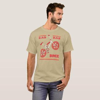 Camiseta Papá rojo BMX del Rad