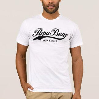 Camiseta PapaBear desde el día de padre modificado para