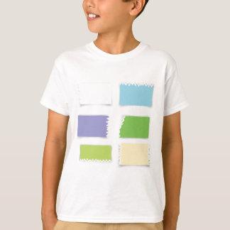 Camiseta papel viejo