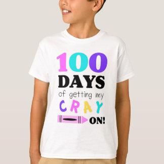 Camiseta para celebrar 100 días de guardería