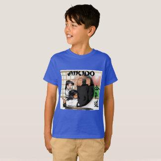 Camiseta para el aikido de los niños
