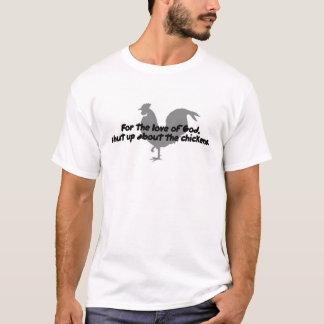 Camiseta ¡Para el amor de dios, cierre para arriba sobre