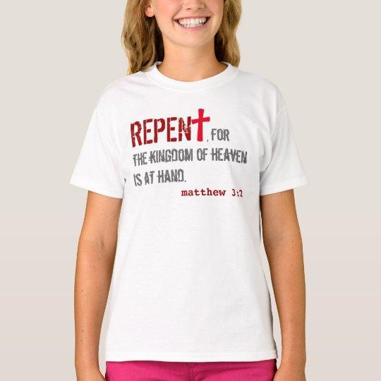 Camiseta para ELLA (juventud): : 3:2 de Matthew + 1:12 de