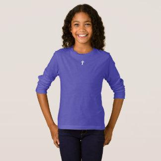 Camiseta para ELLA (juventud): cruz