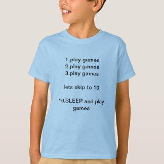 Camiseta Para hacer juegos de los juegos 3.play de