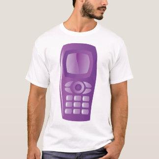 Camiseta para hombre básica del teléfono móvil